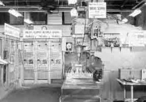 اولین دستگاه ان سی ساخته شده توسط جان پارسونز پدر ان سی جهان