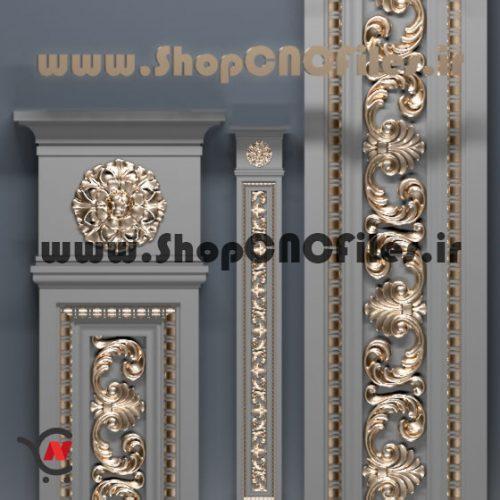 خرید و دانلود آنی طرح سه بعدی ستون برای سی ان سی چوب و سنگ