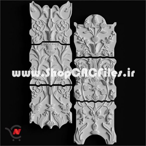 دانلود طرح سه بعدی سی ان سی چوب سی ان سی سنگ طرح دکوراتیو تایل