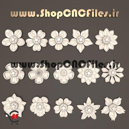 طرح منبت گل برای استفاده درطراحی منبت تری دی مکس